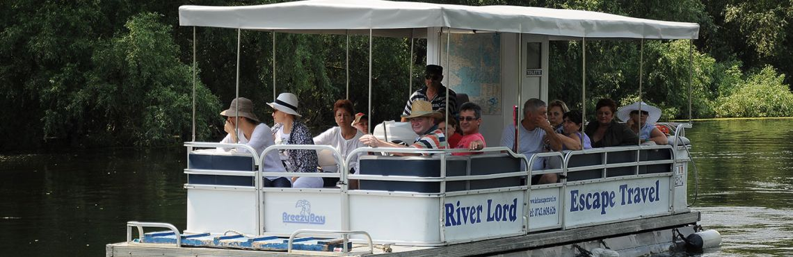 pontoon boat river lord